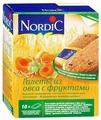 Галета Nordic из овса с фруктами, 10 шт