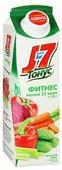 Сок J7 Тонус Фитнес Томат и зелень, без сахара
