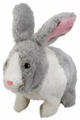 Интерактивная мягкая игрушка My friends Кролик Клевер с морковкой