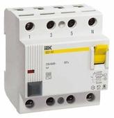 УЗО IEK 30мА тип AC ВД1-63 MDV10-4-025-030 4 полюса