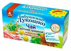 Чай Бабушкино Лукошко Ромашка-тимьян-анис, c 4 месяцев