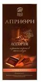 """Шоколад Верность качеству """"Априори"""" горький 75% какао порционный"""