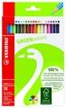 STABILO Цветные карандаши GREEN colors 18 цветов (6019/2-18)