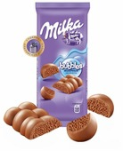 Шоколад Milka Bubbles молочный пористый