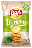 Lay's Чипсы Lay s Из печи картофельные Ароматный укроп рифленые