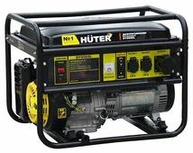 Бензиновый генератор Huter DY9500L (7500 Вт)