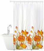 Штора для ванной Tatkraft French Poppies 180x180
