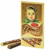 Шоколад Алёнка молочный порционный