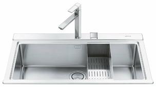 Врезная кухонная мойка smeg VR78