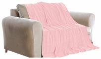 Покрывало фланель 150х200 см GUTEN MORGEN розовый (ПФРЗ-150-200)