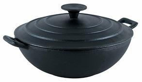 Сковорода-вок GiPFEL Diletto 2147 24 см с крышкой