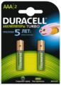 Аккумулятор Ni-Mh 850 мА·ч Duracell Turbo AAA/HR03