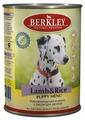 Корм для собак Berkley Паштет для щенков. Новозеландский ягненок с рисом