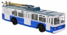 Троллейбус ТЕХНОПАРК TROL-RC 24 см