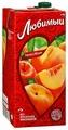 Нектар Любимый Яблоко-Персик-Нектарин с крышкой