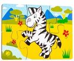 Пазл Мастер игрушек Зебра (IG0064), 6 дет.