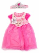 Карапуз Платье и диадема для кукол 40 - 42 см B1626218-RU