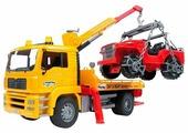 Набор машин Bruder MAN с портативным краном и внедорожником (02-750) 1:16 49.5 см