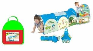 Туннель MSN Toys С отсеком для мячей RR1730961
