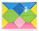 Кубики Томик Цветные треугольники 6677