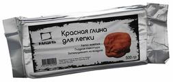 Полимерная глина Малевичъ красная 500 г (810001)
