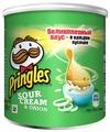 Чипсы Pringles картофельные Sour Cream & Onion