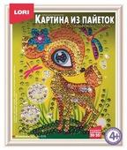 LORI Картина из пайеток Олененок Ап-010