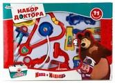 Набор доктора Играем вместе Маша и медведь (B907483-R)