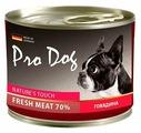 Корм для собак Pro Dog Для собак говядина консервы
