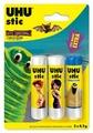 UHU Клей-карандаш Stic 8,2гх2 шт + Stic Magic 8,2гх1 шт