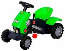Каталка детская Полесье Turbo-2 Трактор с педалями и полуприцепом / 52742