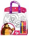 MultiArt Набор для росписи сумки Маша и Медведь (B1525859-ММ)