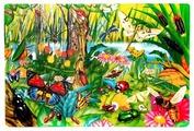 Коврик-пазл Altacto Мир насекомых (PN151P)