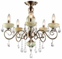 Люстра Arte Lamp Onyx Green A9592PL-5AB, E14, 200 Вт