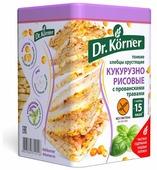 Хлебцы кукурузно-рисовые Dr. Korner с прованскими травами 100 г