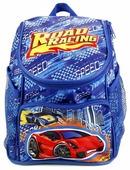 Играем вместе Дошкольный рюкзак Гонки средний с передним карманом (EBP18-DRIVE)