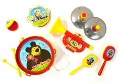 Играем вместе набор инструментов Маша и Медведь B817295-R2