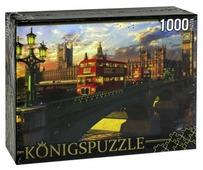 Пазл Рыжий кот Konigspuzzle Лондонский мост (МГК1000-6489), 1000 дет.