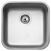 Врезная кухонная мойка TEKA BE 400/400 Plus 43.3х43.3см нержавеющая сталь