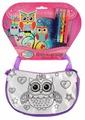 MultiArt Набор для росписи сумки Совушки (ST-027-OWL)