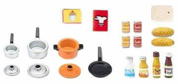 Набор продуктов с посудой Lundby Набор аксессуаров для кухни LB_60507900