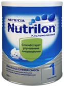 Смесь Nutrilon (Nutricia) 1 кисломолочный (c рождения) 400 г