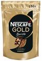 Кофе растворимый Nescafe Gold Barista с молотым кофе, пакет