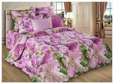 Постельное белье семейное Диана-Текс Сирень розовая 4257(502) бязь