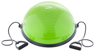 Полусфера STARFIT Bosu GB-501 зеленый с эспандерами