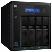 Сетевой накопитель (NAS) Western Digital My Cloud Pro Series PR4100 (WDBNFA0000NBK)