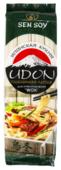 Лапша Sen Soy Японская кухня Udon пшеничная для приготовления Wok 300 г