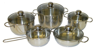Набор посуды Амет Классика-Прима 1с946 10 пр.