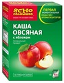 Ясно cолнышко Каша овсяная с яблоком, порционная (6 шт.)