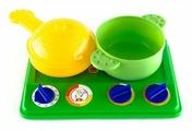 Набор Пластмастер Плита с посудой 21025